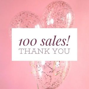 🎉 💖 OVER 👗100 👛 ITEMS 👒 SOLD 💖 🎉